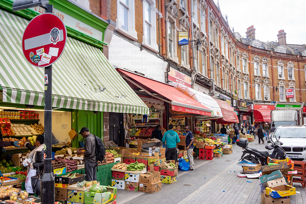 Brixton is a district of south London, England, within the Borough of Lambeth. The area is identified in the London Plan as one of 35 major centres in Greater London. Brixton is mainly residential with a prominent street market and substantial retail sector. It is a multiethnic community, with a large percentage of its population of Afro-Caribbean descent. It lies within Inner London and is bordered by Stockwell, Clapham, Streatham, Camberwell, Tulse Hill, Balham and Herne Hill. The district houses the main offices of the London Borough of Lambeth. Brixton is 2.7 miles (4.3 km) south-southwest from the geographical centre of London near Brixton Underground station on the Victoria Line