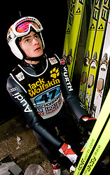 Richard Freitag (GER) during Trial round of the FIS Ski Jumping World Cup event of the 58th Four Hills ski jumping tournament, on January 6, 2010 in Bischofshofen, Austria. (Photo by Vid Ponikvar / Sportida)