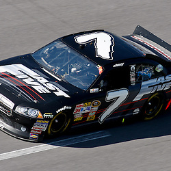 April 17, 2011; Talladega, AL, USA; NASCAR Sprint Cup Series driver Robby Gordon (7) during the Aarons 499 at Talladega Superspeedway.   Mandatory Credit: Derick E. Hingle