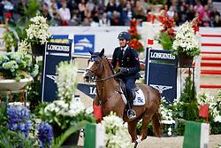 De Luca Lorenzo, ITA, Halifax van het Kluizebos<br /> Gothenburg Horse Show FEI World Cups 2017<br /> © Hippo Foto - Stefan Lafrentz<br /> 26/02/17
