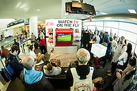 Dish Network's introduction of Watch on the Fly campaign in conjunction with Southwest Airlines.