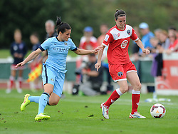 Bristol Academy Womens' Natalia Pablos Sanchon - Photo mandatory by-line: Dougie Allward/JMP - Mobile: 07966 386802 - 28/09/2014 - SPORT - Women's Football - Bristol - SGS Wise Campus - Bristol Academy Women's v Manchester City Women's - Women's Super League
