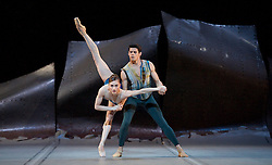 Serenade<br /> The Royal Ballet <br /> Triple Bill<br /> at The Royal Opera House, Covent Garden, London, Great Britain <br /> Press photocall<br /> 13th May 2014 <br /> <br /> <br /> Marianela Nunez<br /> <br /> Matthew Golding <br /> <br /> Lauren Cuthbertson <br /> <br /> Melissa Hamilton <br /> <br /> Ryoichi Hirano <br /> <br /> <br /> ----------------------------<br /> <br /> Sweet Violets<br /> choreography by Liam Scarlett <br /> The Royal Ballet <br /> Triple Bill<br /> at The Royal Opera House, Covent Garden, London, Great Britain <br /> pre-General rehearsal <br /> 13th May 2014 <br /> <br /> Meaghan Grace Hinkis as Emily Dimmock<br /> <br /> Lauren Cuthbertson as Mary-Jane Kelly <br /> <br /> Laura Morera as Annie E Crook<br /> <br /> Sarah Lamb as Marie<br /> <br /> Yuhui Choe as Little Dot <br /> <br /> Thomas Whitehead as Robert Wood<br /> <br /> Thiago Soares as Walter Sickert <br /> <br /> Federico Bonelli as Eddy <br /> <br /> Christopher Saunders as Lord Salisbury <br /> <br /> Steven McRae as Jack <br /> <br /> -------------------------------------<br /> <br /> DGV<br /> The Royal Ballet <br /> Triple Bill <br /> Danse a Grande Vitesse <br /> at The Royal Opera House, London, Great Britain <br /> pre-general rehearsal <br /> 13th May 2014 <br /> <br /> <br /> Natalia Osipova<br /> Edward Watson <br /> <br /> <br /> Marianela Nunez<br /> Thiago Soares <br /> <br /> Laura Morera<br /> Valeri Hristov <br /> <br /> Natalia Osipova<br /> Edward Watson