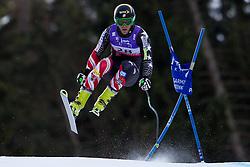 10.02.2011, Kandahar, Garmisch Partenkirchen, GER, FIS Alpin Ski WM 2011, GAP, Herren Abfahrtstraining, im Bild Steven Nyman (USA) takes to the air competing in the first men's downhill training run on the Kandahar race piste at the 2011 Alpine skiing World Championships, EXPA Pictures © 2011, PhotoCredit: EXPA/ M. Gunn