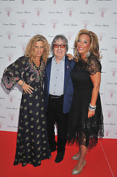 Left to right, SUZANNE WYMAN, BILL WYMAN and DENISE RICH at Gabrielle's Gala an annual fundraising evening in aid of Gabrielle's Angel Foundation for Cancer Research held at Battersea Power Station, London on 2nd May 2013.