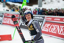 KRISTOFFERSEN Henrik of Norway celebrates during the Audi FIS Alpine Ski World Cup Men's Slalom 58th Vitranc Cup 2019 on March 10, 2019 in Podkoren, Kranjska Gora, Slovenia. Photo by Matic Ritonja / Sportida