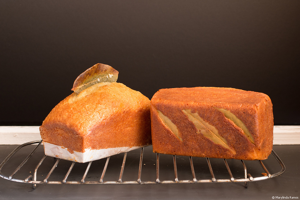 Bay leaf infuses this pound cake with a delicate and evocative fragrance.