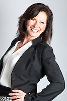 Indoor business portraits of Darlene Hollstein, General Manager of the Bay Centre, Victoria, BC