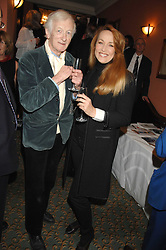 JOHN MICHELL and JERRY HALL at the 2008 Oldie of The year Awards and lunch held at Simpsons in The Strand, London on 11th March 2008.<br /><br />NON EXCLUSIVE - WORLD RIGHTS