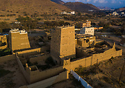 SAUDI ARABIA FROM ABOVE<br /> Many people assume that the Saudi Kingdom abounds with luxury buildings and signs of wealth, but outside of the main cities, the country remains very rural. This old village with mud houses is located in the Asir province. These houses are called midmakh and they may have up to seven floors. The huge walls are the best way to keep temperatures cool during the summer. There are rooftop terraces that allow people to enjoy fresher air.