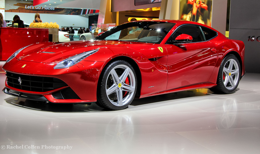 """""""Ferrari F12 Berlinetta"""" 3<br /> <br /> An awesome image of the stunning brand new 2013 red Ferrari F12 Berlinetta!!<br /> <br /> Cars and their Details by Rachel Cohen"""