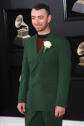 NEW YORK, NY - JANUARY 28: 60th Annual GRAMMY Awards at Madison Square Garden on January 28, 2018 in New York City. 28 Jan 2018 Pictured: Sam Smith. Photo credit: JP/MPI/Capital Pictures / MEGA TheMegaAgency.com +1 888 505 6342