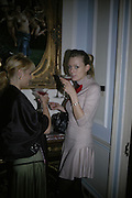 Andrea Arthen and Anette Wilms, Biba after-show party organised by Quinessentially.  Royal Duchess Palace, 16 Mansfield Street, London W1. 19 September 2006.  ONE TIME USE ONLY - DO NOT ARCHIVE  © Copyright Photograph by Dafydd Jones 66 Stockwell Park Rd. London SW9 0DA Tel 020 7733 0108 www.dafjones.com