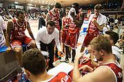 Leka Spiro<br /> Grissin Bon Pallacanestro Reggio Emilia - VL Pesaro<br /> Lega Basket Serie A 2017/2018<br /> Reggio Emilia, 08/10/2017<br /> Foto A.Giberti / Ciamillo - Castoria