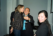 DANIELA KARNUTS; JIMMY CHOO; VYSIAN DUFFIELD, June Sarpong  celebrates launch of her new political website, PoliticsAndTheCity.com. Institute Of Contemporary Arts (ICA), The Mall, London, SW1 8 July 2008 *** Local Caption *** -DO NOT ARCHIVE-© Copyright Photograph by Dafydd Jones. 248 Clapham Rd. London SW9 0PZ. Tel 0207 820 0771. www.dafjones.com.