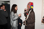 JULIA SEBREGONDI; NAZIFA MOUSUMOVA;, There is a Land Called Loss | Annie Morris | Pertwee Andersen and Gold, in association with Adam Waymouth Art , Private View, 15 bateman st. W1 2nd February 2012