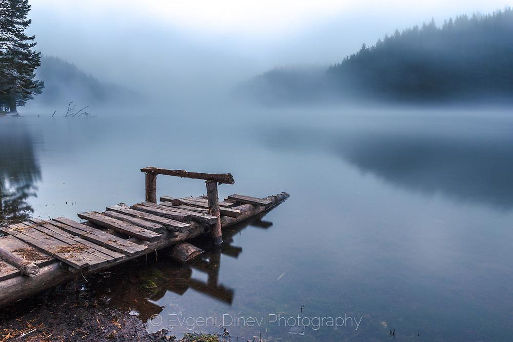 Golyam Beglik lake in Rhodope Mountains in the begining of september