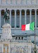 Altare Della Patria Monument, also known as the Vittorio Emanuele II. Rome, Italy.