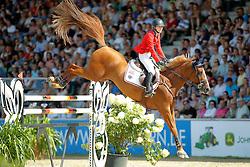 Davis Lucy, (USA), Barron<br /> CSIO Nations Cup - Mannheim 2015<br /> © Hippo Foto - Stefan Lafrentz