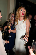 CAT DEELEY, The Tomodachi ( Friends) Charity Dinner hosted by Chef Nobu Matsuhisa in aid of the Unicef  Japanese Tsunami Appeal. Nobu Berkeley St. London. 5 May 2011. <br /> <br />  , -DO NOT ARCHIVE-© Copyright Photograph by Dafydd Jones. 248 Clapham Rd. London SW9 0PZ. Tel 0207 820 0771. www.dafjones.com.