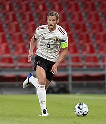 Jan Vertonghen (Belgien) under UEFA Nations League kampen mellem Danmark og Belgien den 5. september 2020 i Parken, København (Foto: Claus Birch).