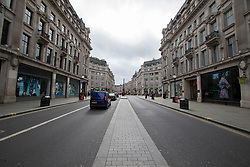 © Licensed to London News Pictures. 15/03/2020. London, UK. Oxford Circus appears quiet this afternoon . New cases of the COVID-19 strain of Coronavirus are being reported daily as the government outlines it's plans for controlling the outbreak. Photo credit: George Cracknell Wright/LNP