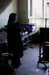 FAIZABAD PROVINCIAL HOSPITAL, 27 July 2005..Women in the recovery room....According to United Nations Population Fund, Afghanistan has among the world?s highest rates of maternal mortality, and Badakhshan has the highest rates ever recorded anywhere in the world, with one mother dying in every 15 births. ..Lack of medical infrastructures is one of the primary causes of maternal mortality.....
