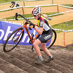 11-01-2020: Wielrennen: NK Veldrijden: Rucphen <br />Indy Verwaast