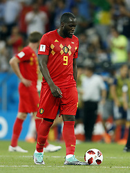 Romelu Lukaku of Belgium during the 2018 FIFA World Cup Russia round of 16 match between Belgium and Japan at the Rostov Arena on July 02, 2018 in Rostov-On-Don, Russia