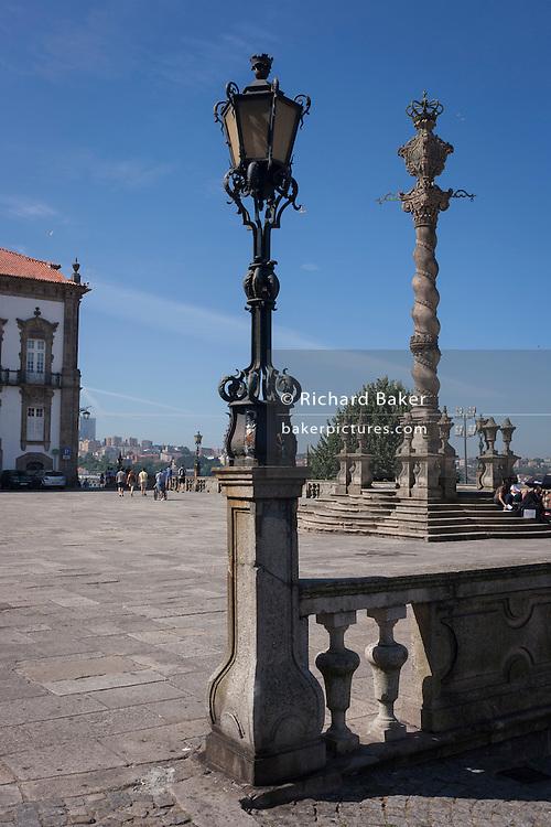 The Terreiro Da Se Monument in Porto, Portugal.