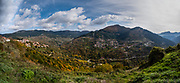 Panorama near Metzovo, Greece