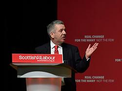 Pictured: Scottish Labour health spokesman David Stewart MSP speaks to conference.<br /> <br /> The Scottish Labour Party spring conference opened in Dundee on Friday, where Scottish Labour leader Richard Leonard joined delegates and party activists.<br /> <br /> <br /> © Dave Johnston / EEm