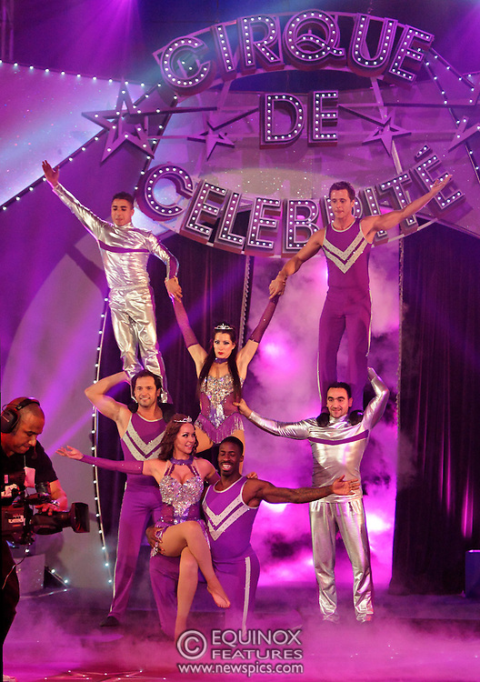 London, United Kingdom - 9 December 2007.The final of Sky One TV show Cirque de Celebrite Series 2..The show's winner was ex Neigbours actor Kyal Marsh. Featured on the show were american sprinter Dwain Chambers, ex Eastenders actress Hannah Waterman, Polish princess Princess Tamara, Australian glamour model Emily Scott, former member of boyband Five Ritchie Neville, member of Boyzone Shane Lynch, Professional football player Dean Holdsworth, Big Brother contestant Liam McGough, Socialite Lady Isabella Hervey, Bad Girls cast member Antonia Okonma, Casualty actor Luke Bailey, actress Stacey Cadman and former Neighbours actor Kyal Marsh..The location for the show was Woolwich Common, Academy Road, Woolwich, UK..(photo by: EDWARD HIRST/EQUINOXFEATURES.COM)..Picture Data:.Photographer: EDWARD HIRST.Copyright: ©2007 Licensed to Equinox News Pictures +448700 780000.Contact: Equinox Features.Date Taken: 20071209.Time Taken: 190916+0000.www.newspics.com