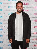 Andrea Faustini, Attitude Magazine's Hot 100 Summer Party, The Rumpus Room at the Mondrian Hotel, London UK, 20 July 2015, Photo by Brett D. Cove