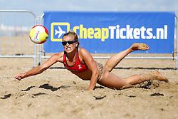 20150828 NED: NK Beachvolleybal 2015, Scheveningen<br />Kwalificaties NK Beachvolleybal 2015, Marloes Wesselink
