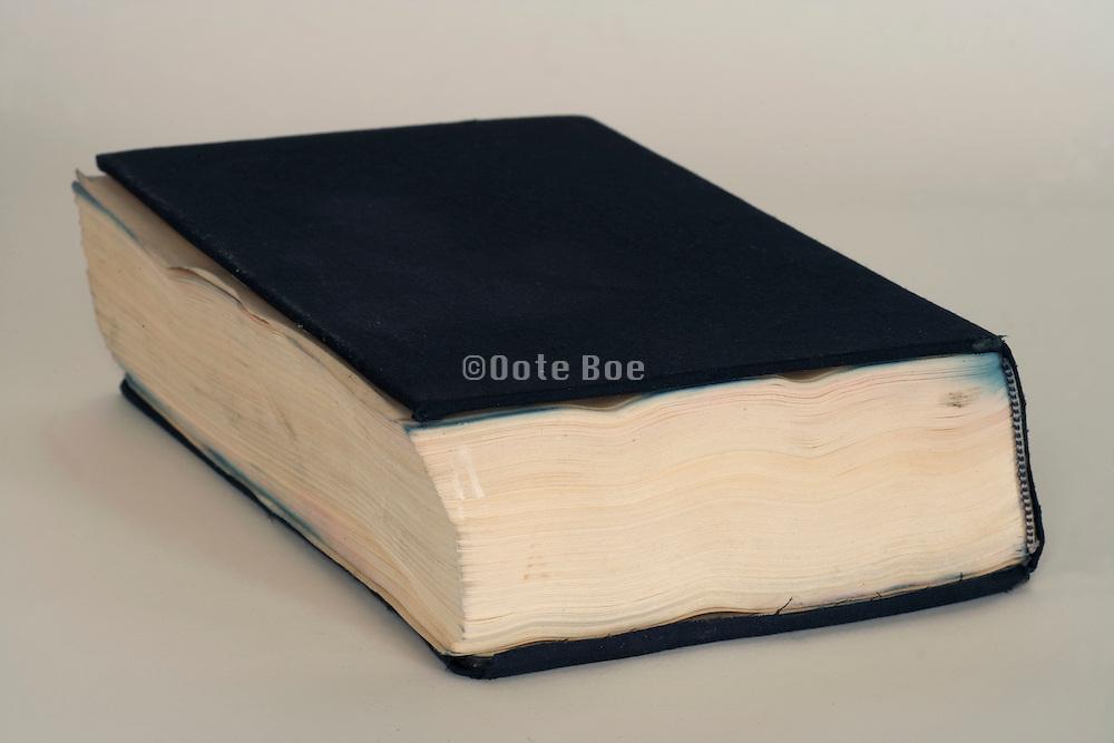 closed book fully focused