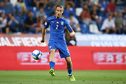 September 5, 2017 - Reggio Emilia, Italy - Andrea Conti of Italy during the FIFA World Cup 2018 qualification football match between Italy and Israel at Mapei Stadium in Reggio Emilia on September 5, 2017. (Credit Image: © Matteo Ciambelli/NurPhoto via ZUMA Press)