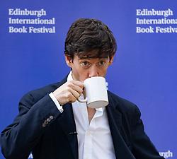 Edinburgh, Scotland, UK. 26 August 2019. Rory Stewart the Conservative MP at the festival. Iain Masterton/Alamy Live News.