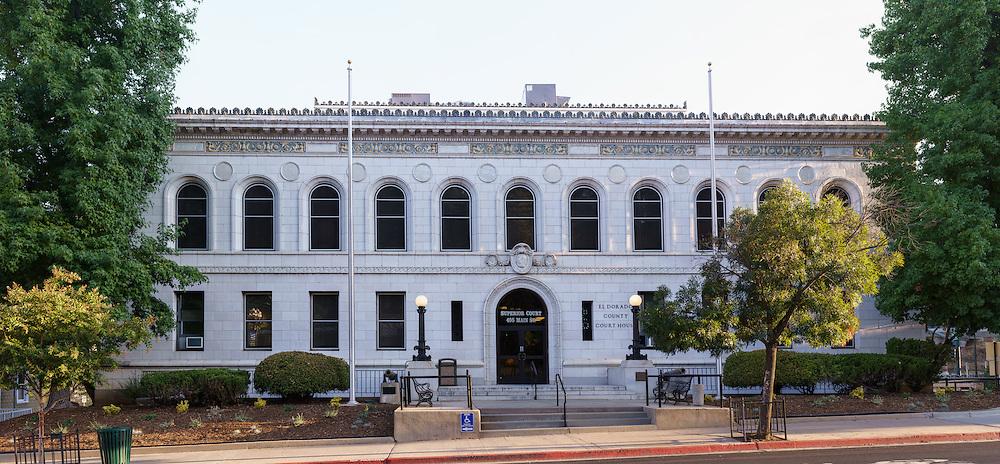 El Dorado County Courthouse, Placerville, CA. (46900 x 21780 pixels)