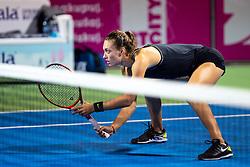 PORTOROZ, SLOVENIA - SEPTEMBER 18: Tereza Mihalikova of Slovakia during the Semifinals of WTA 250 Zavarovalnica Sava Portoroz at SRC Marina, on September 18, 2021 in Portoroz / Portorose, Slovenia. Photo by Matic Klansek Velej / Sportida