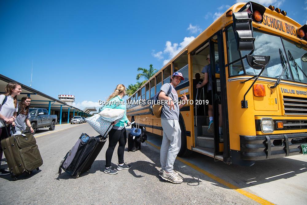 Leo Hyde <br /> <br /> St Joe mission trip to Belize 2019. JAMES GILBERT PHOTO 2019