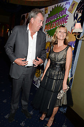 KATE MOSS and JEREMY CLARKSON at the Hoping Foundation's 'Rock On' Benefit Evening for Palestinian refuge children held at the Cafe de Paris, London on 20th June 2013.