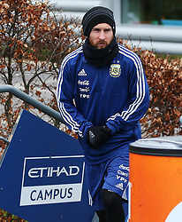 Argentina's Lionel Messi walks out to train - Mandatory by-line: Matt McNulty/JMP - 21/03/2018 - FOOTBALL - Argentina - Training session ahead of international against Italy