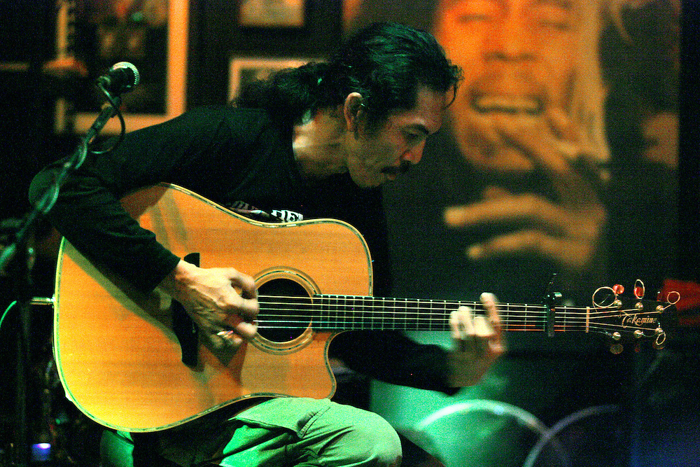 Watchara Charoenpon, better known around town simply as Took (pronounced Tuk) has been Chiang Mai, Thailand's most celebrated Rock 'n Roll guitarist for nearly two decades.<br /> <br /> Took struts his stuff and trips the light fantastic almost every night at The Brasserie, 37 Charoen Rat Road. He normally starts playing after 11 p.m.<br /> <br /> He plays unbelievable classic rock guitar that will blow your mind. If this guy was in the U.S. he would be asked to sit in with every jam band or classic rock band there is!<br /> This is not to be missed....He is as good as it gets!