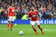 Nottingham Forest midfielder Liam Bridcutt (7) during the EFL Sky Bet Championship match between Nottingham Forest and Burton Albion at the City Ground, Nottingham, England on 21 October 2017. Photo by Jon Hobley.