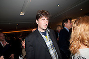 LORD JOHNSON SOMERSET, Book launch party for the paperback of Nicky Haslam's book 'Sheer Opulence', at The Westbury Hotel. London. 21 April 2010
