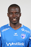 Ande Dona Ndoh during Photoshooting of Niort for new season 2017/2018 on September 12, 2017 in Niort, France. <br /> Photo : CNFC / Icon Sport