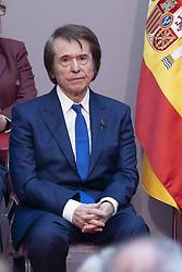 May 2, 2019 - Madrid, Spain - Rafael Martos 'Raphael' receive the medals of the community of Madrid at Real Casa de Correos in Madrid on 02 May 2019. (Credit Image: © Oscar Gonzalez/NurPhoto via ZUMA Press)