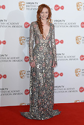 Eleanor Tomlinson in the winners photo area at the Virgin British Academy Television Awards (BAFTA) held at the Royal Festival Hall, Southbank, London. Photo credit should read: Doug Peters/ EMPICS Entertainment