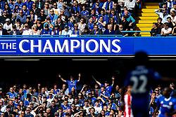 General View of a Champions sign - Rogan Thomson/JMP - 21/05/2017 - FOOTBALL - Stamford Bridge - London, England - Chelsea v Sunderland - Premier League..